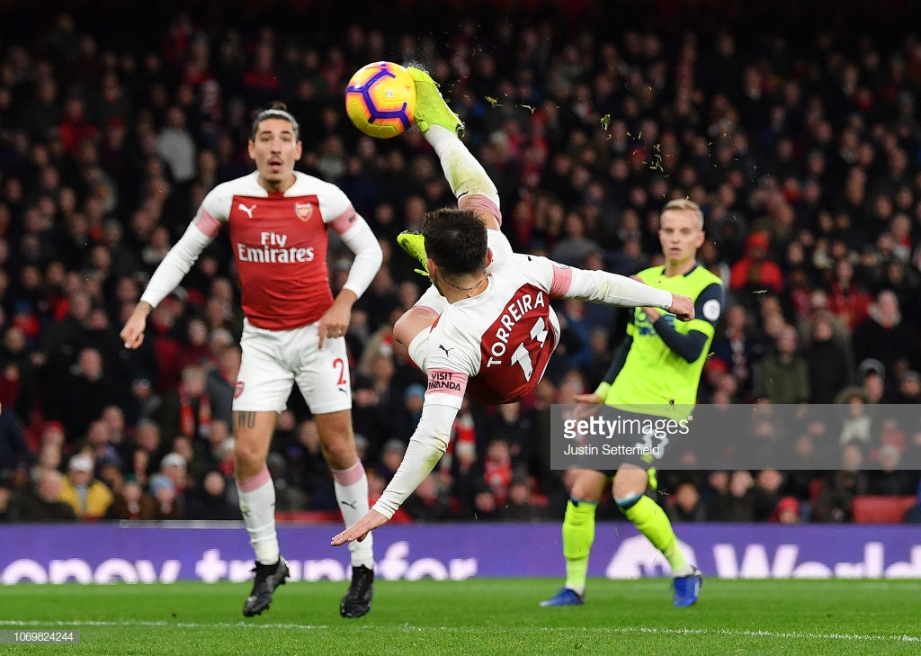 Arsenal 1-0 Huddersfield: Late Torreira goal gives Arsenal the points