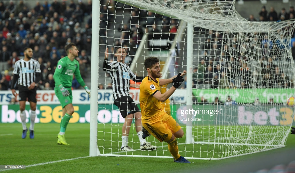 Newcastle United 1-2 Wolverhampton Wanderers: Doherty's last gasp winner breaks brave Magpies hearts