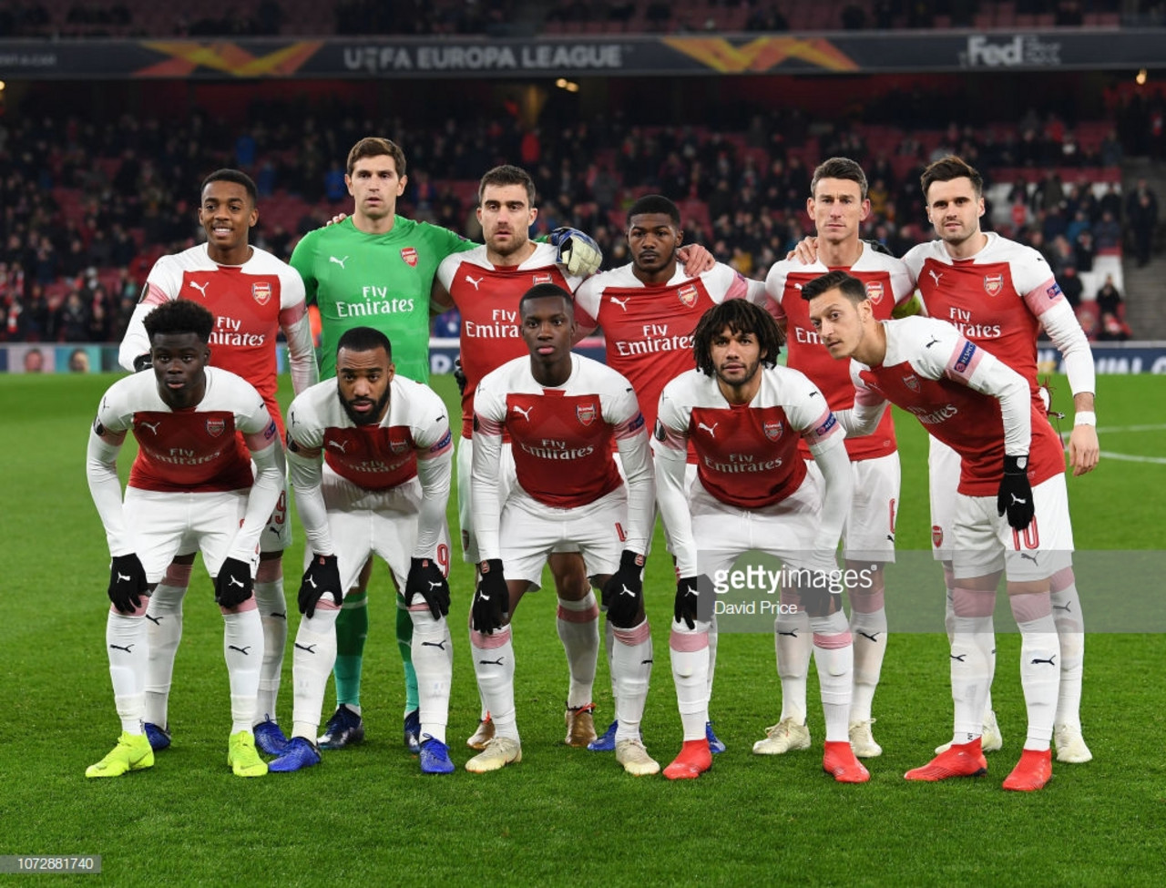 Arsenal to play BATE Borisov in Europa League round of 32
