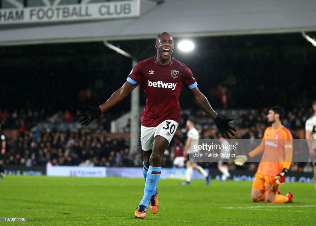 Fulham 0-2 West Ham United: Double sees Hammers cruise on the Thames