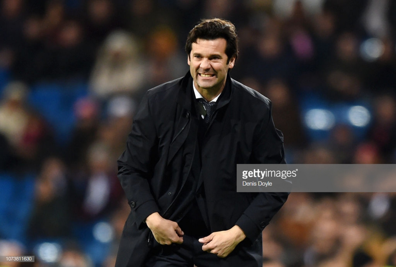 Solari iterates his side will not underestimate their Japanese opponents