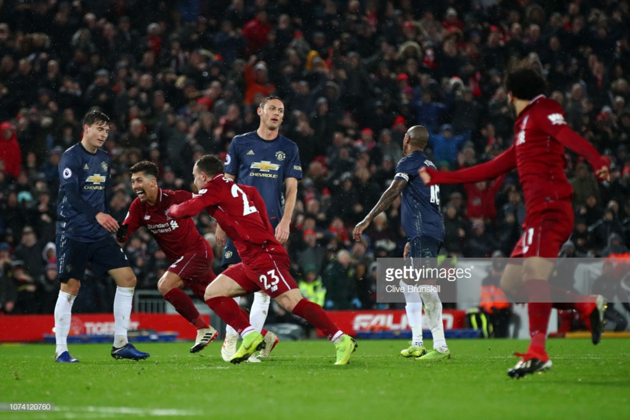 Liverpool 3-1 Manchester United: Dismal Red Devils undone by two quickfire second half goals from Shaqiri