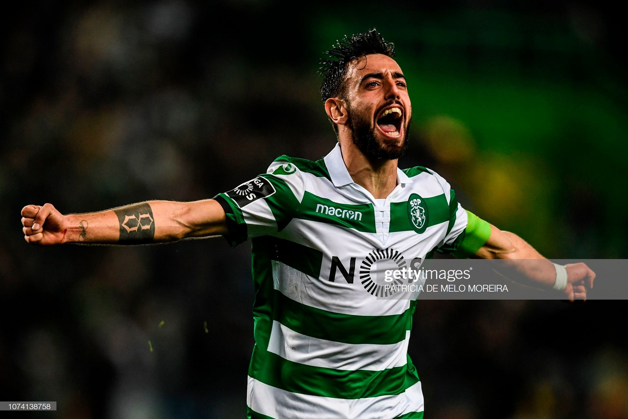 Bruno Fernandes no United