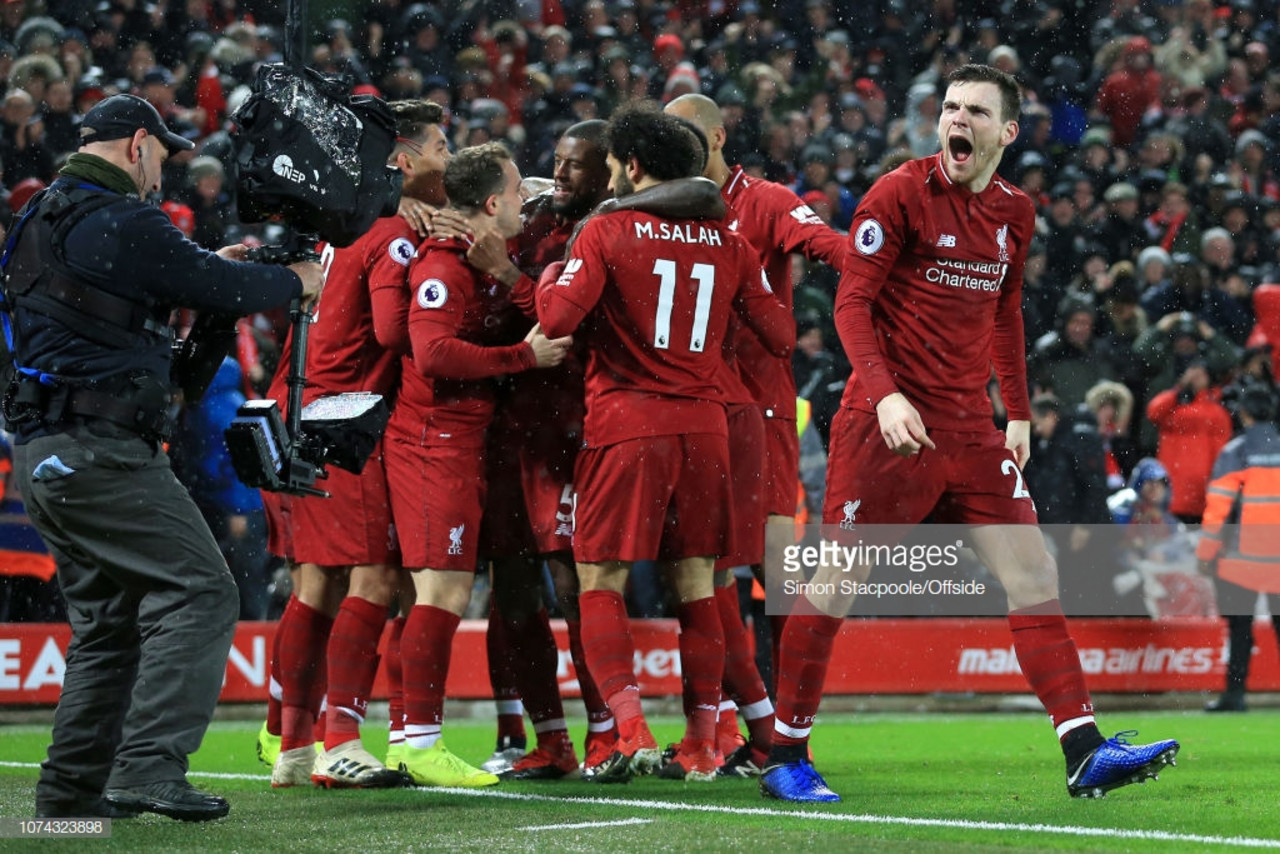 As it happened: Liverpool remain top at Christmas by seeing off Wolves