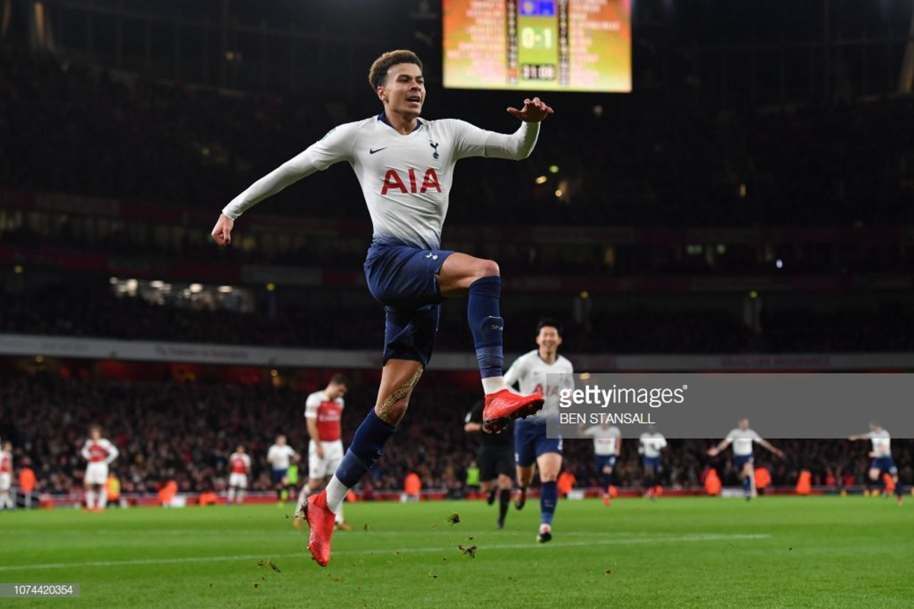 Arsenal 0-2 Tottenham Hotspur: Alli and Son help Spurs progress into the Carabao Cup semi-finals