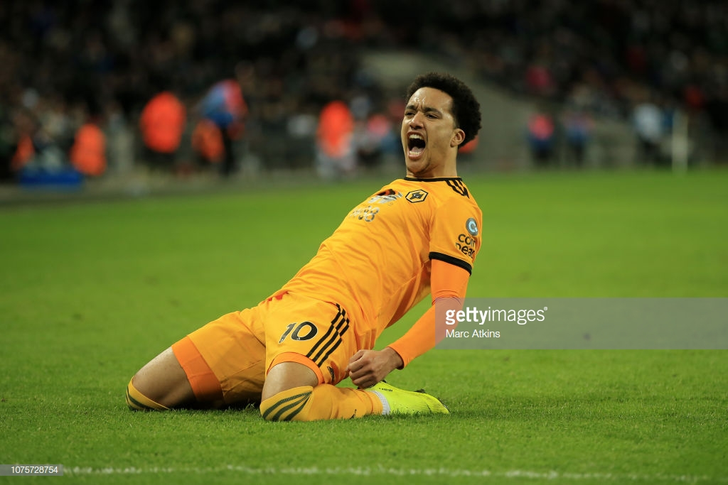 Tottenham Hotspur 1-3 Wolverhampton Wanderers: Wolves stun Wembley to bring Spurs' title charge to a halt