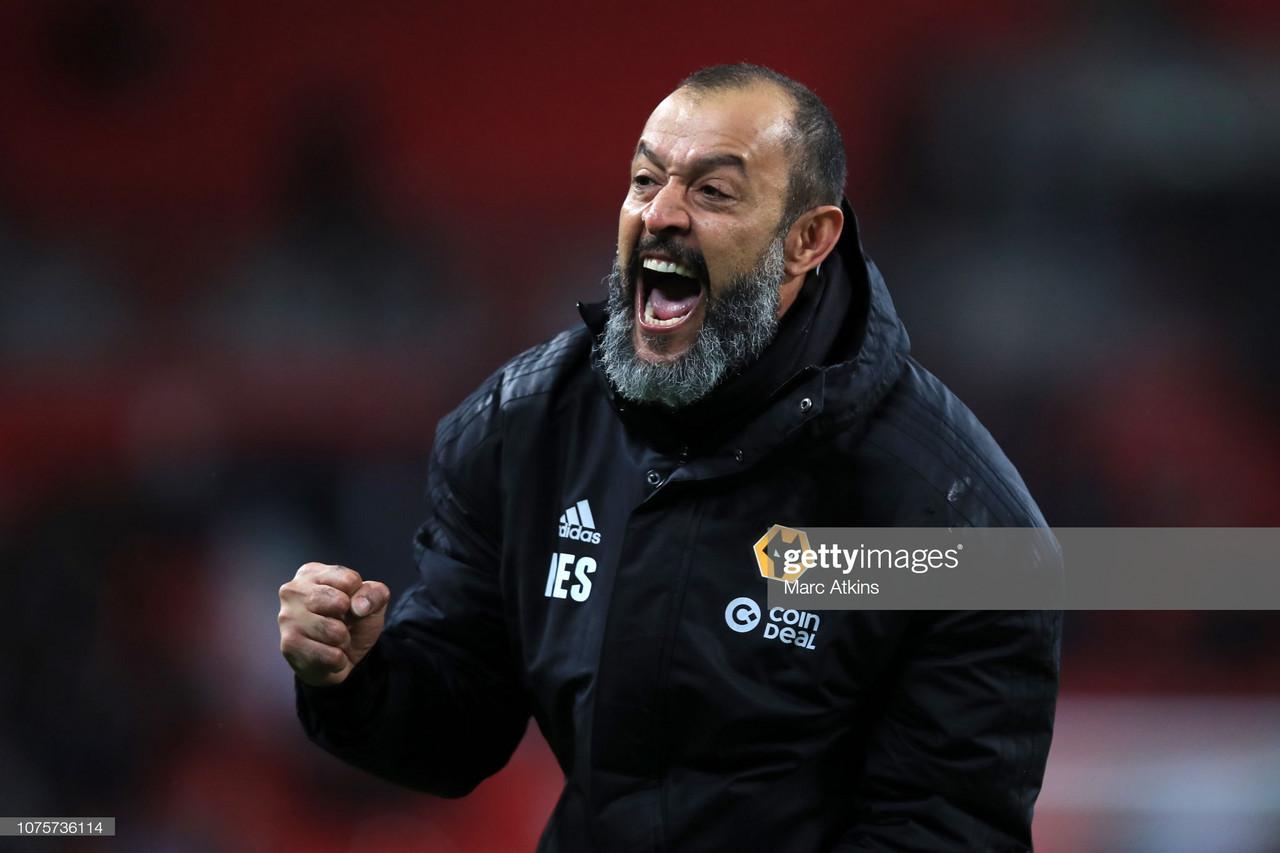 Nuno Espirito Santo left pleased with his side's display over Midlands neighbour Aston Villa