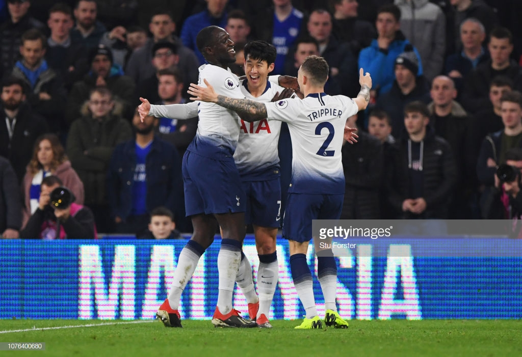 Cardiff City 0-3 Tottenham Hotspur: Spurs bounce back from Wembley thumping with a measured victory
