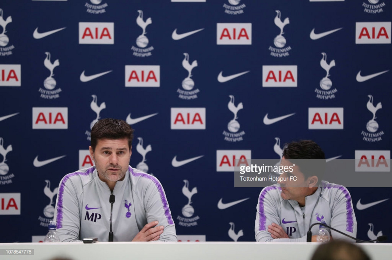 Pochettino on Saturday's Burnley clash, the title race and their Champions League miracle
