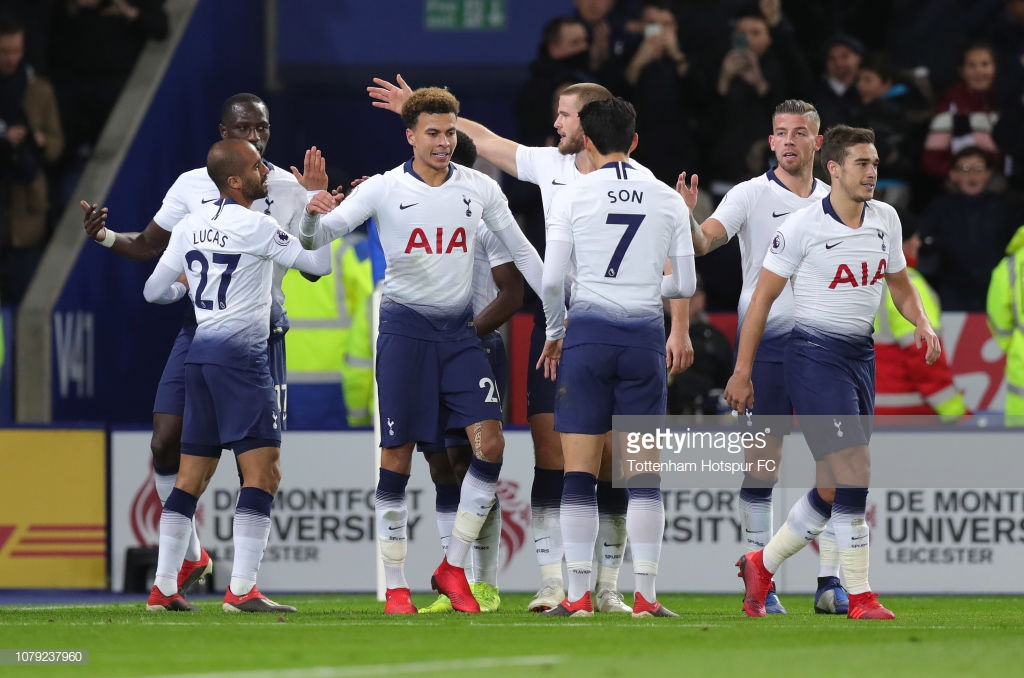 Leicester City 0-2 Tottenham Hotspur: Clinical Lilywhites climb to third in the Premier League