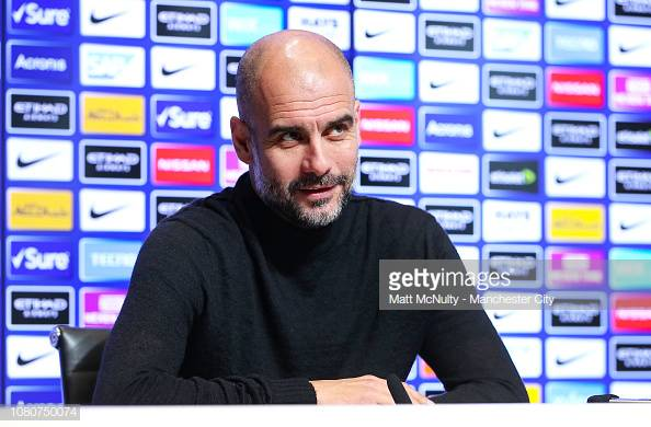 Guardiola happy to see squad return to full fitness