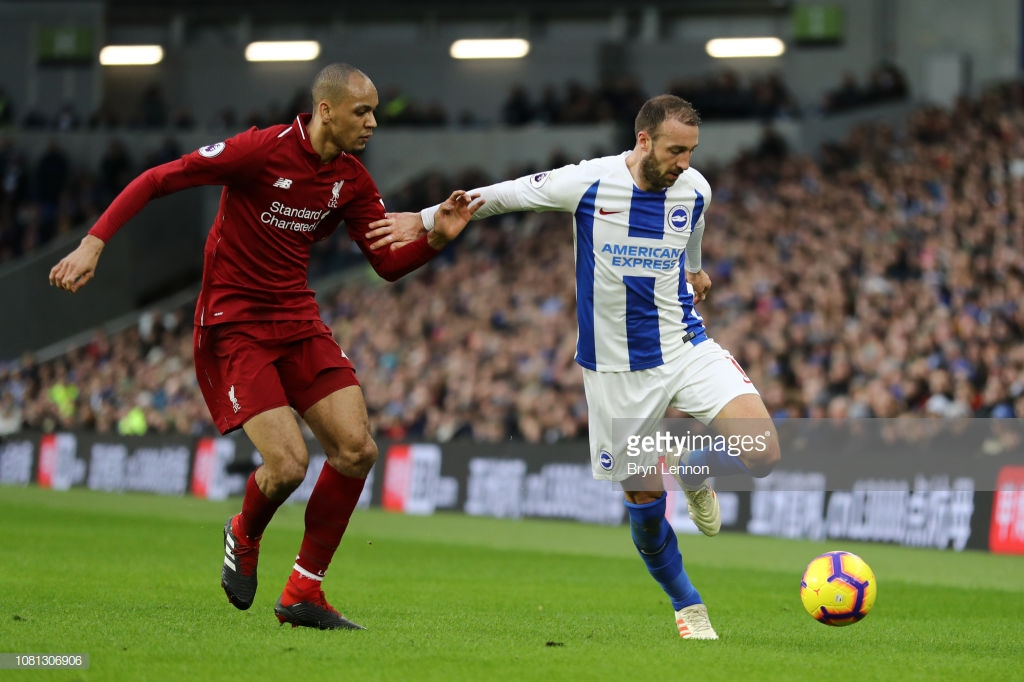 Andy Robertson likens Fabinho's pattern of progression to his own