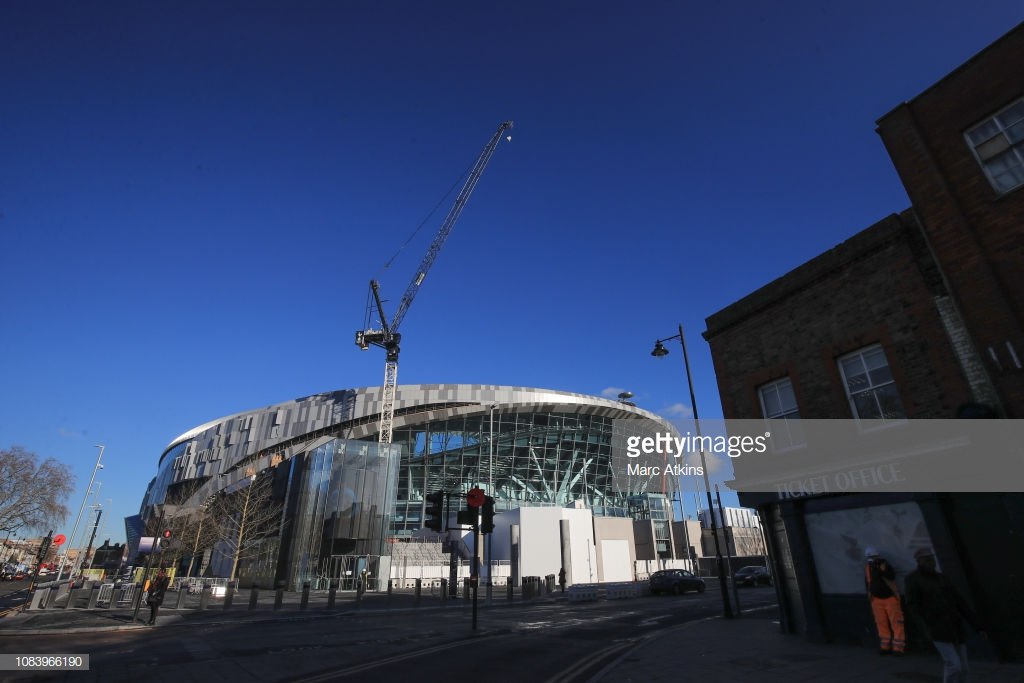 Spurs announce game against Arsenal will be held at Wembley Stadium