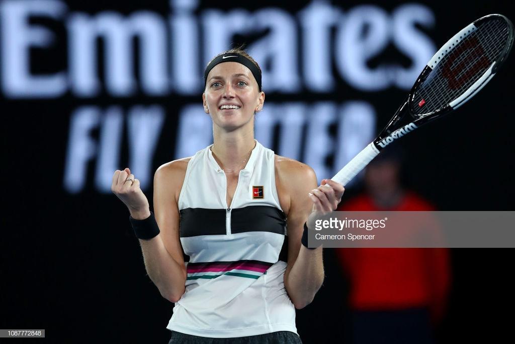 Australian Open: Petra Kvitova dominates Danielle Collins to reach first-ever final in Melbourne