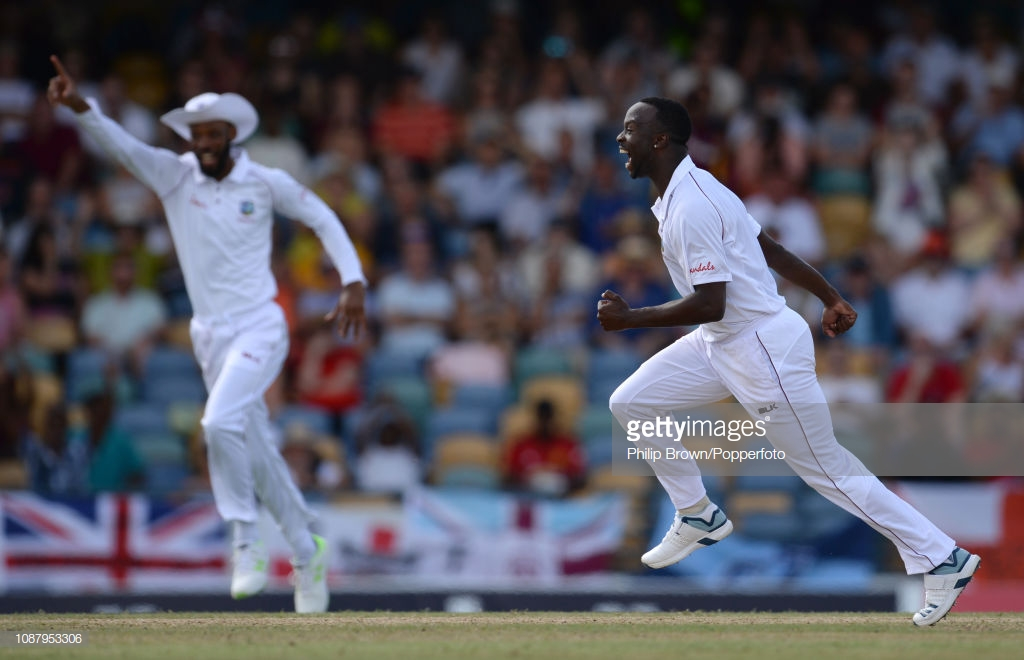 West Indies vs England - First Test, Day Two: Tourists blown away by Windies' pace before late revival