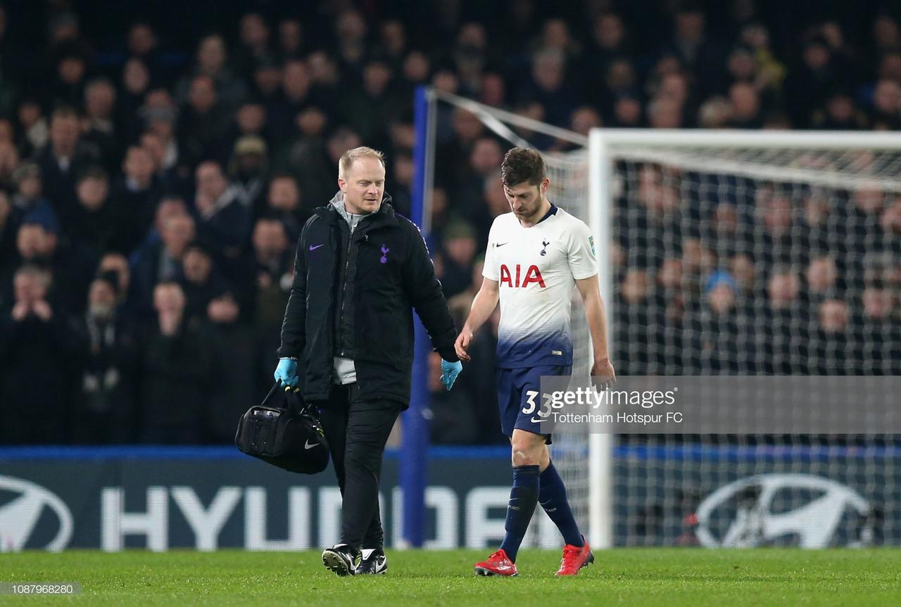 Spurs defender Davies undergoes successful groin surgery