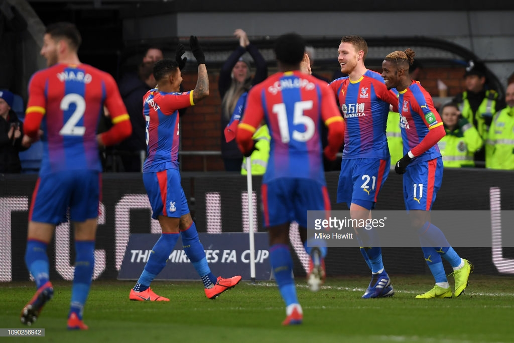 Crystal Palace 2-0 Tottenham Hotspur: Spurs' week of misery continues as Palace secure fifth-round spot