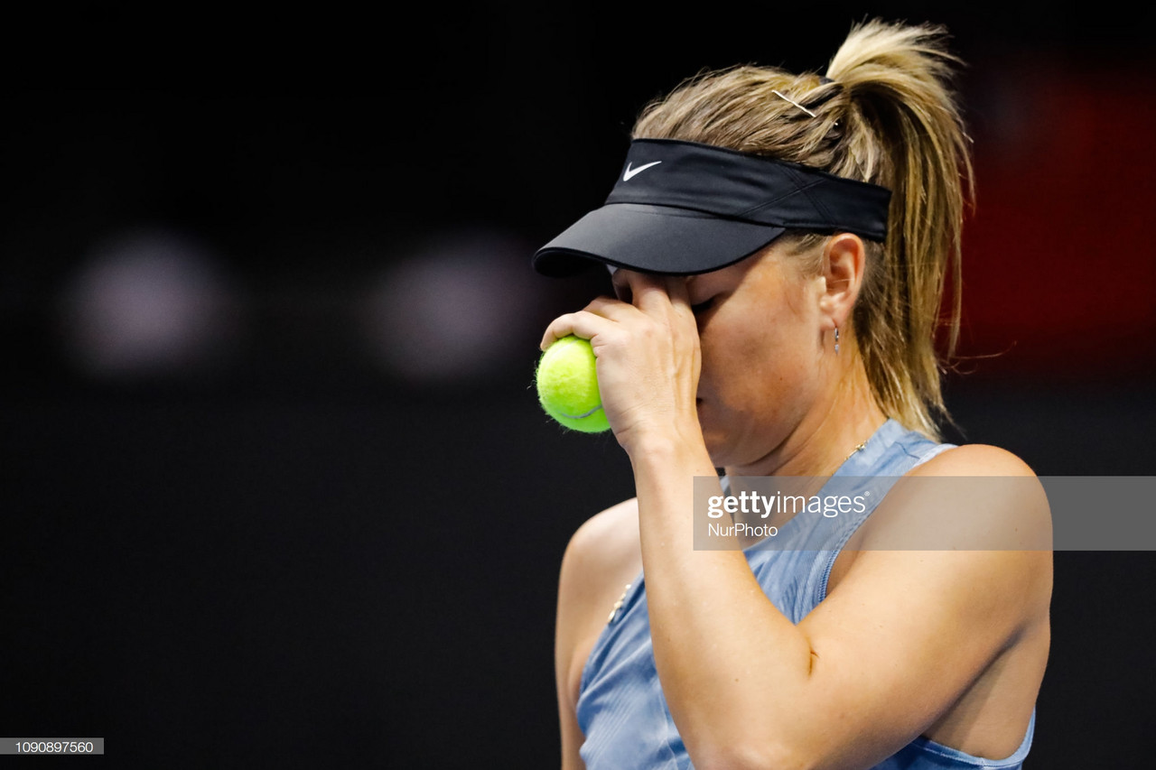 Maria Sharapova withdraws from the French Open