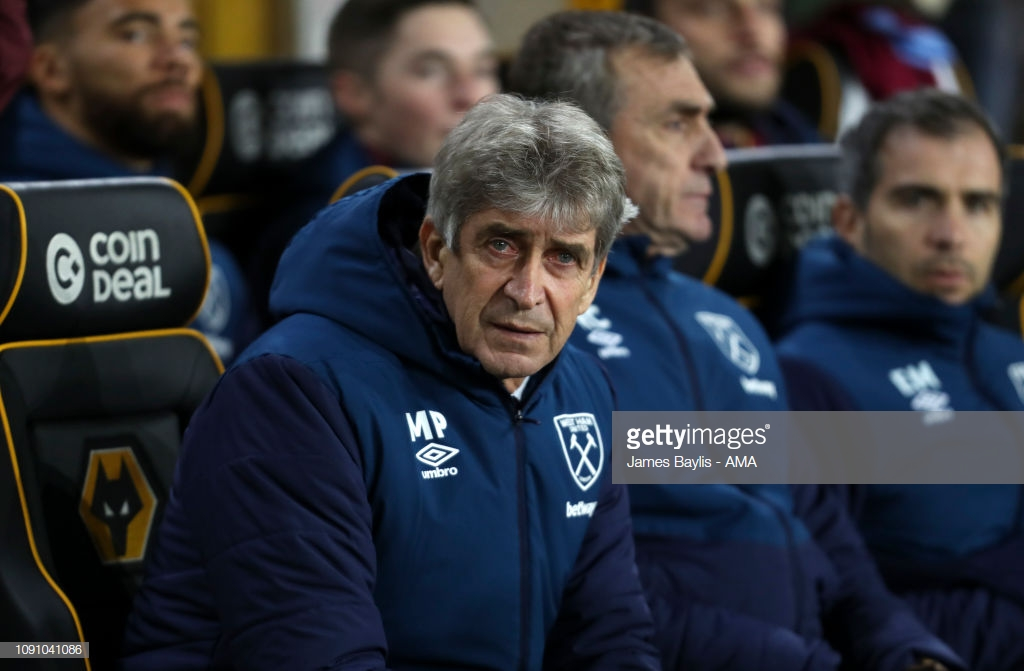 Pellegrini puzzled by West Ham's performance against Wolves.