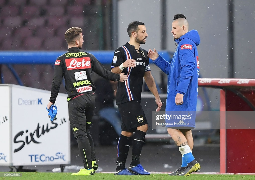 Napoli vs. Sampdoria: Can the Partenopei get back to winning ways?
