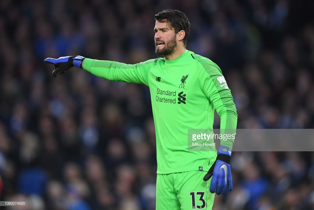 Alisson believes Manchester City remain title favourites