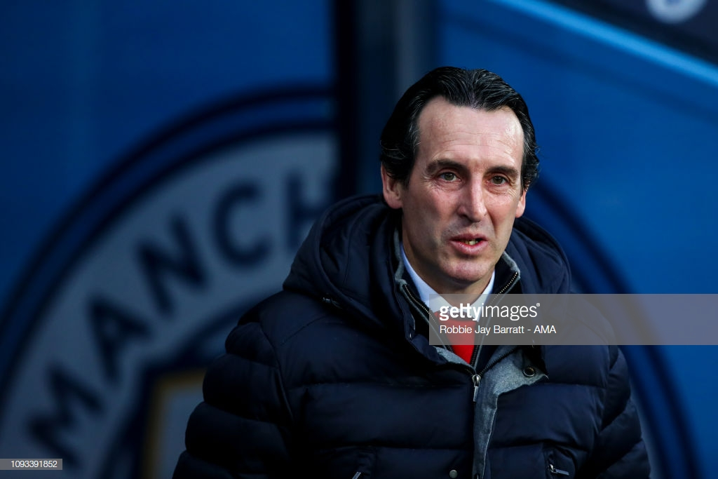 Unai Emery accepts defeat as Manchester City prove quality