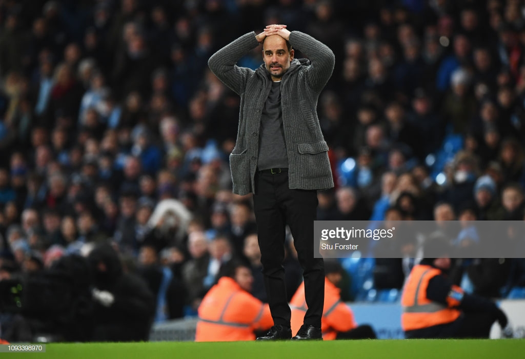 Pep Guardiola admits he thought title race was 'almost over' after Newcastle defeat