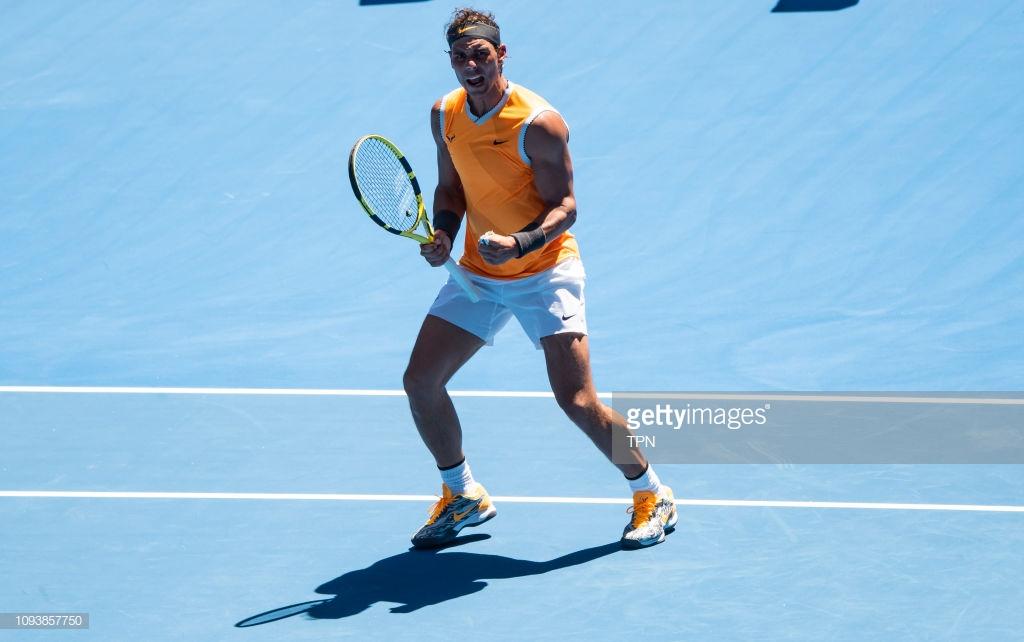 Australian Open: Rafael Nadal eases by James Duckworth