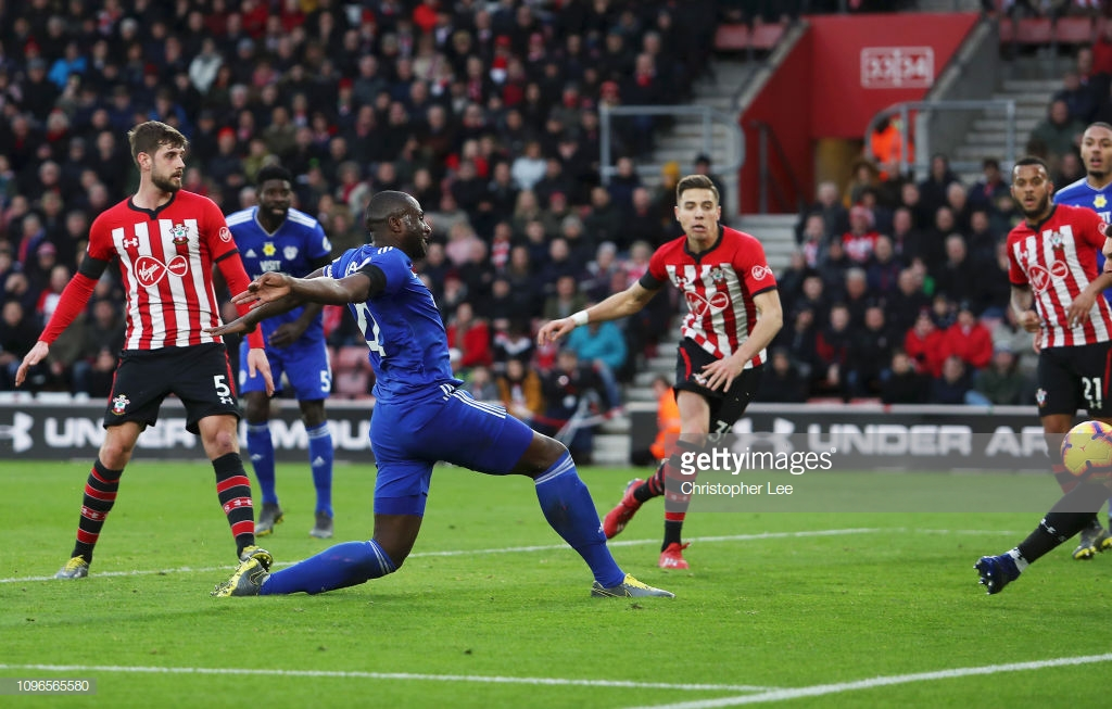 Southampton 1-2 Cardiff City: Bluebirds fly out of the relegation zone as Southampton head towards danger