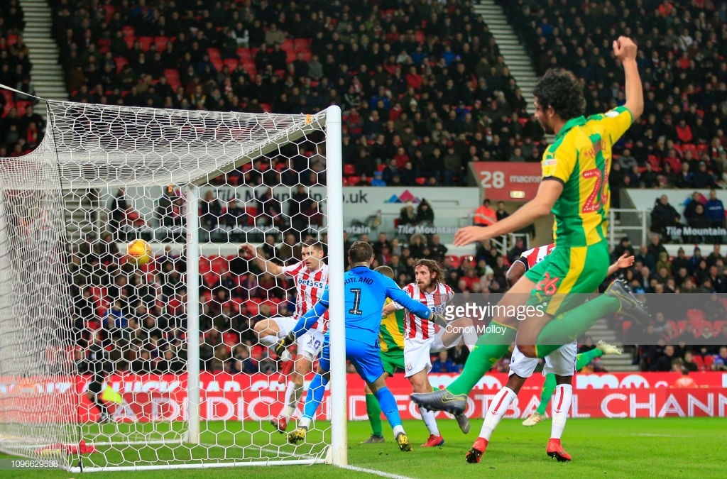 Stoke City 0-1 West Bromwich Albion: Baggies claim the points in local derby