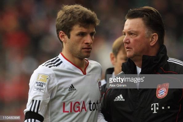 Schweinsteiger: Van Gaal was desperate to sign Thomas Müller for Manchester United