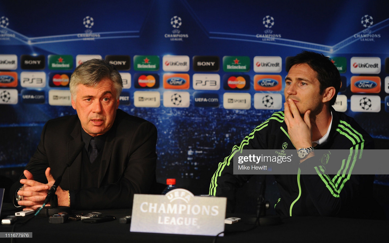 "Lampard: ""I always enjoyed working with Ancelotti"""