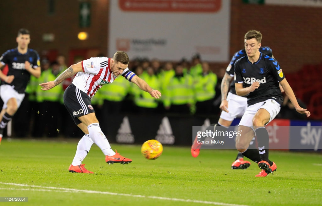 Sheffield United 1-0 Middlesbrough: Stearman heads home to secure Blades all three points