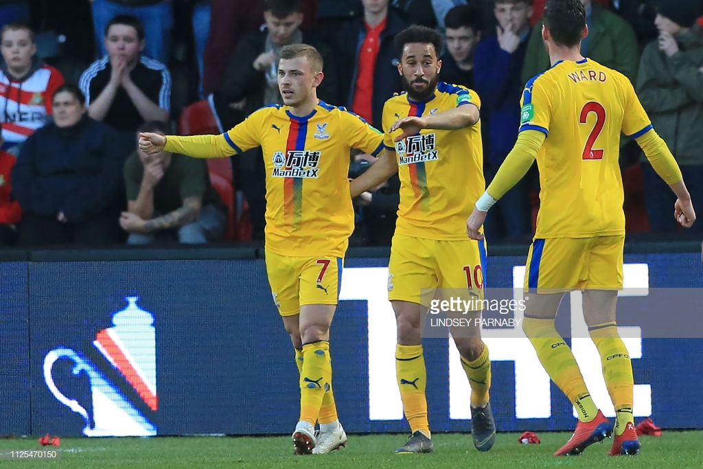 Doncaster Rovers 0-2 Crystal Palace: The Eagles soar into the quarter-finals