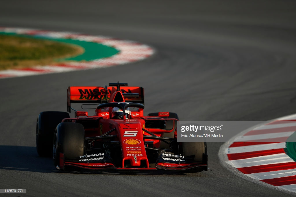 F1: Vettel sets pace on first day of 2019 pre-season test in Barcelona