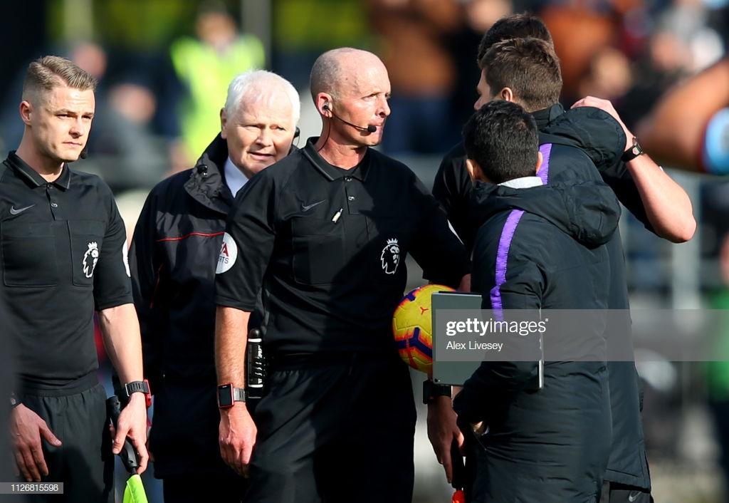 Mauricio Pochettino accepts FA charge after Mike Dean confrontation
