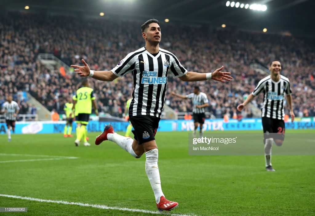 Newcastle United 2-0 Huddersfield Town: Huge victory for Magpies on a day where Almiròn steals the show