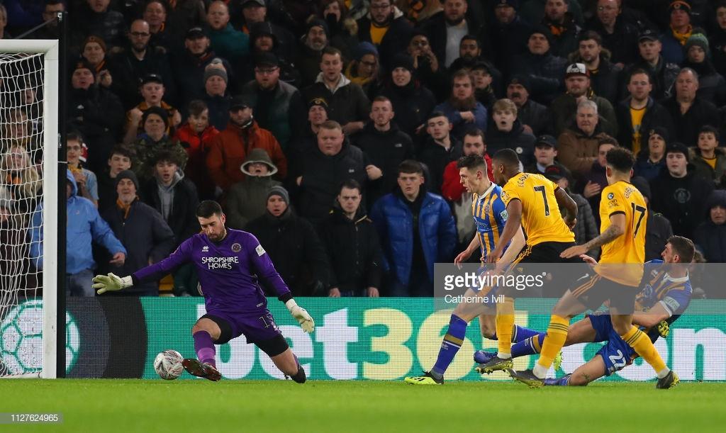 Wolverhampton Wanderers 3-2 Shrewsbury Town: Wolves edge past valiant Shrewsbury in FA Cup cracker