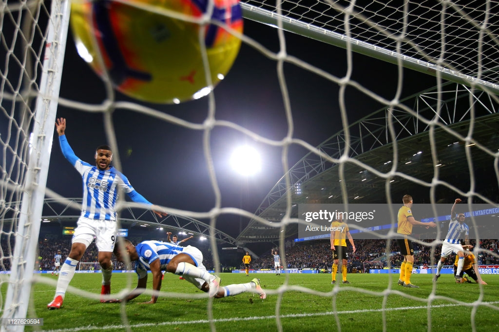 As it happened: Huddersfield leave it late to do double over Wolves