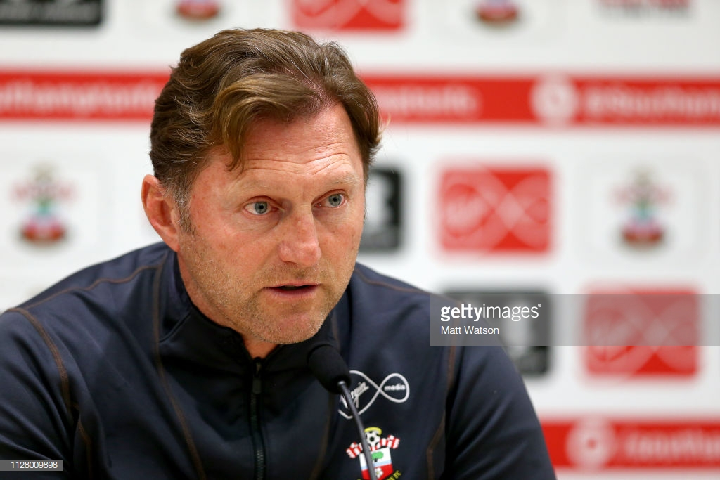 Ralph Hasenhuttl 'struggles to find the words' following dramatic defeat.