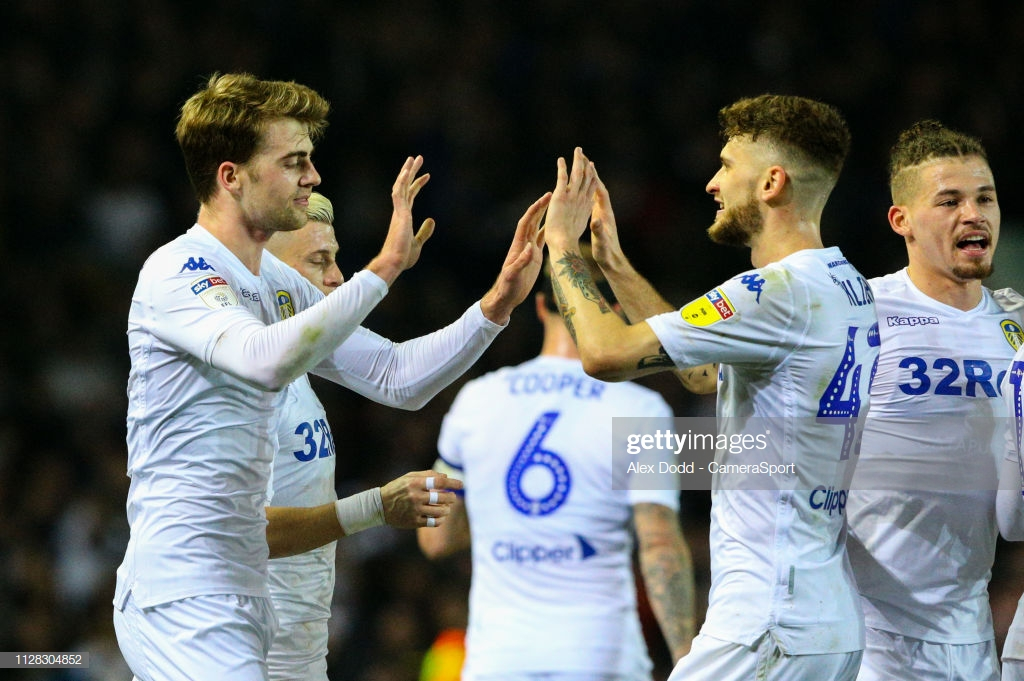 Leeds United 4-0 West Brom: Bielsa's side march to top of the table with statement win