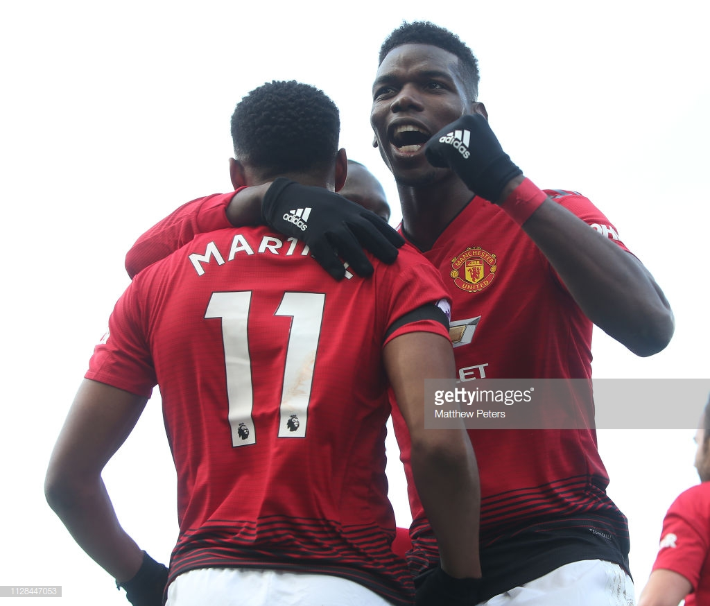 Fulham 0-3 Manchester United: French connection lead Manchester United to an easy victory at the Cottage