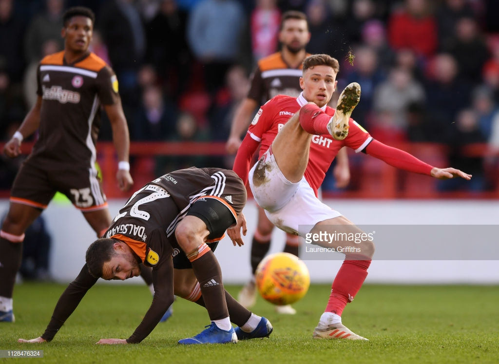 Nottingham Forest 2 v 1 Brentford: Forest survive late scare to clinch maximum points