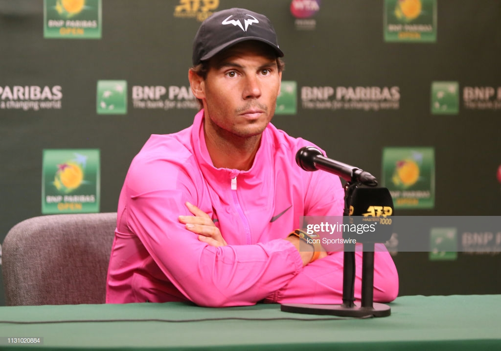 Rafael Nadal withdraws from BNP Paribas Open semifinals