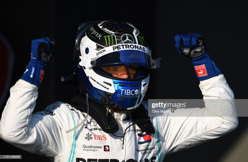 F1: Bottas dominates at first race of 2019 in Melbourne