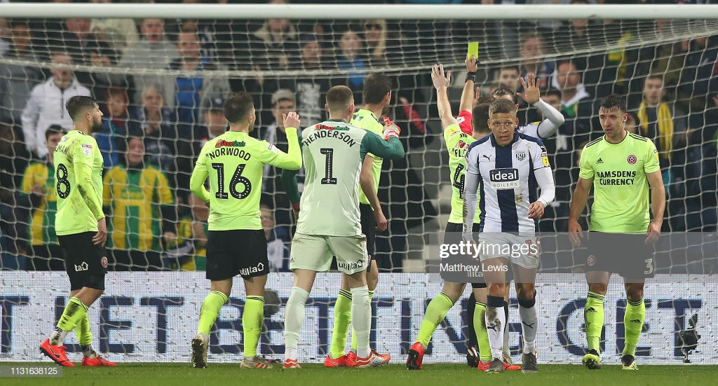 West Bromwich Albion 0-1 Sheffield United: Blades claim huge win in promotion battle
