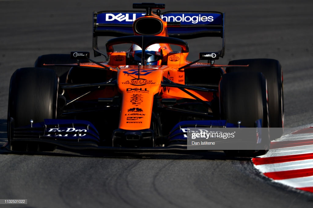 Sainz fastest for McLaren on second day of the final week of testing