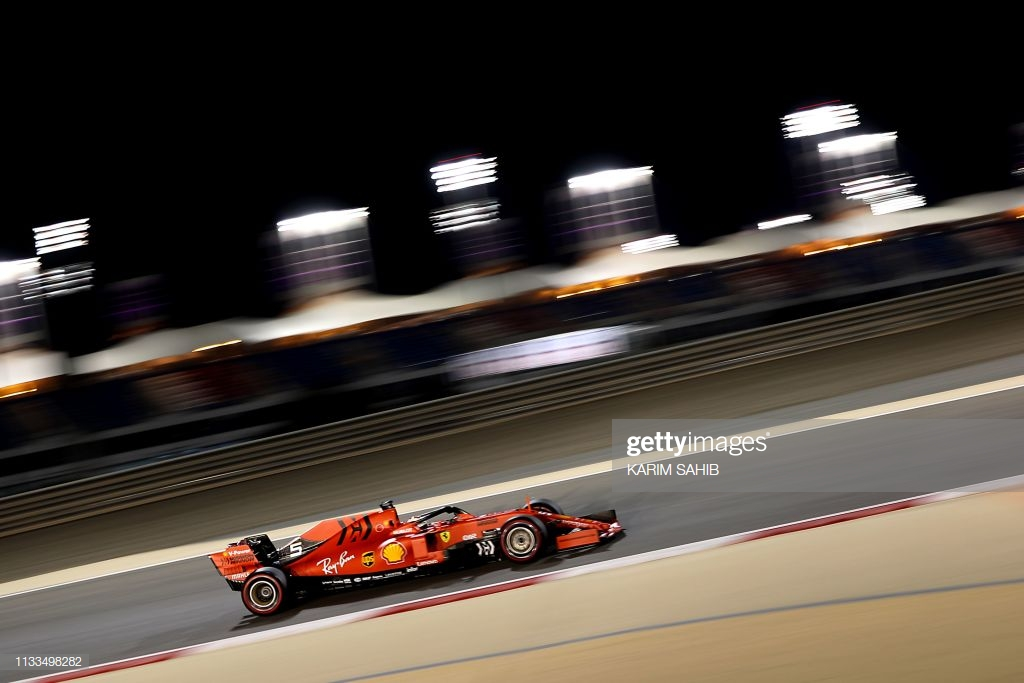 Ferrari set pace during Friday practice in Bahrain