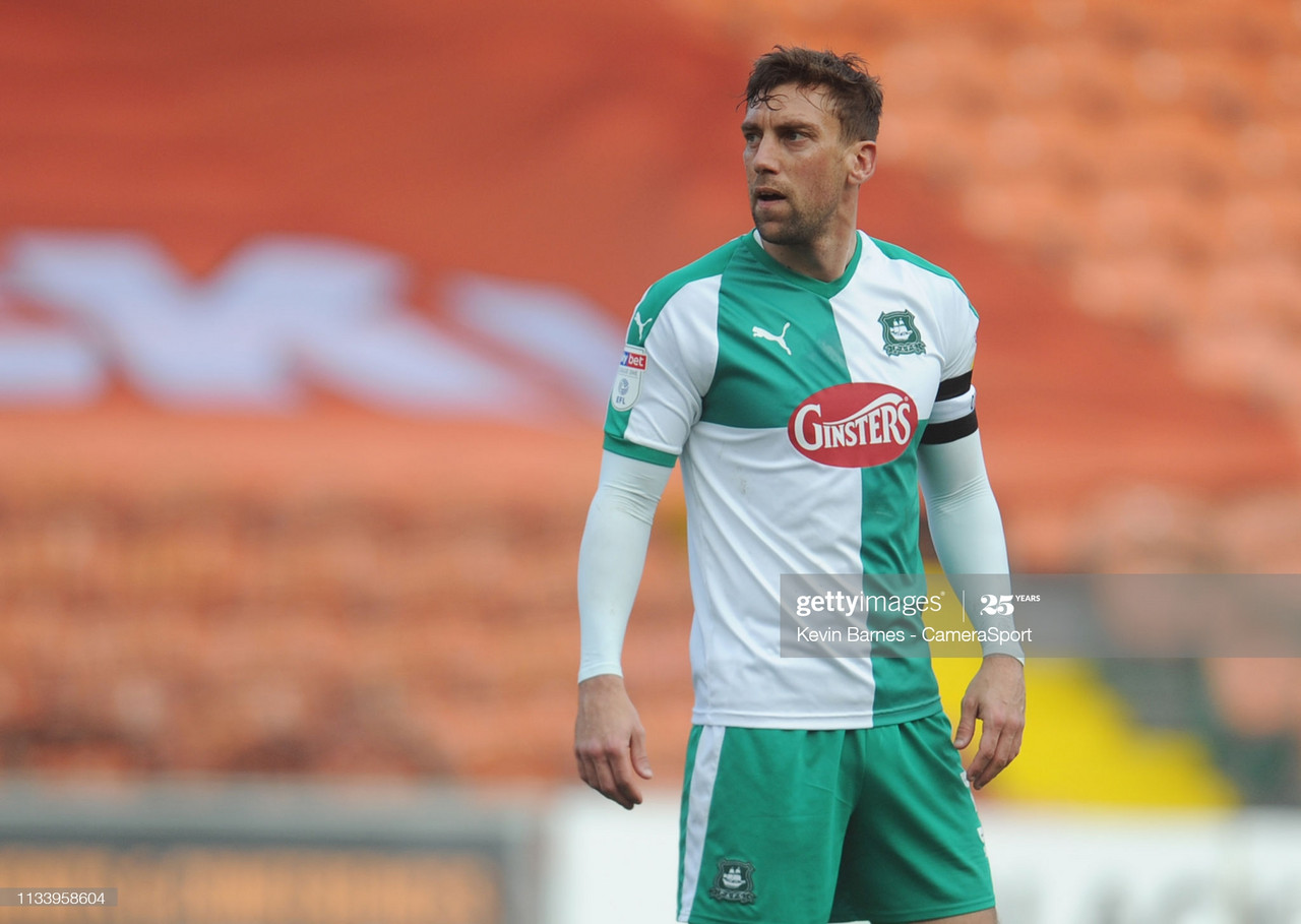 Plymouth Argyle's Sawyer sidelined for the foreseeable future