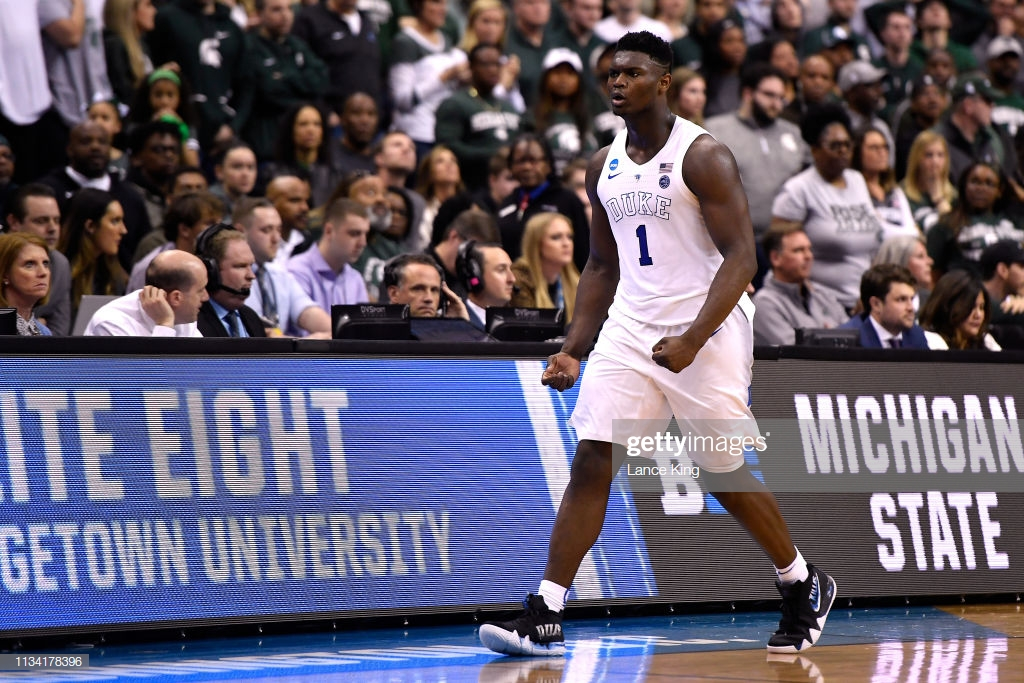 Zion WIlliamson voted AP Player of the Year by overwhelming majority